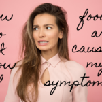 woman questioning if foods are causing her symptoms